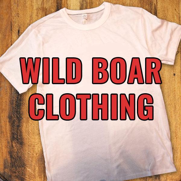Wild Boar Clothing